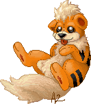 Growlithe Plushie by AttitudeTwo