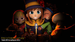 A Hat in TIme - Hat-iversary