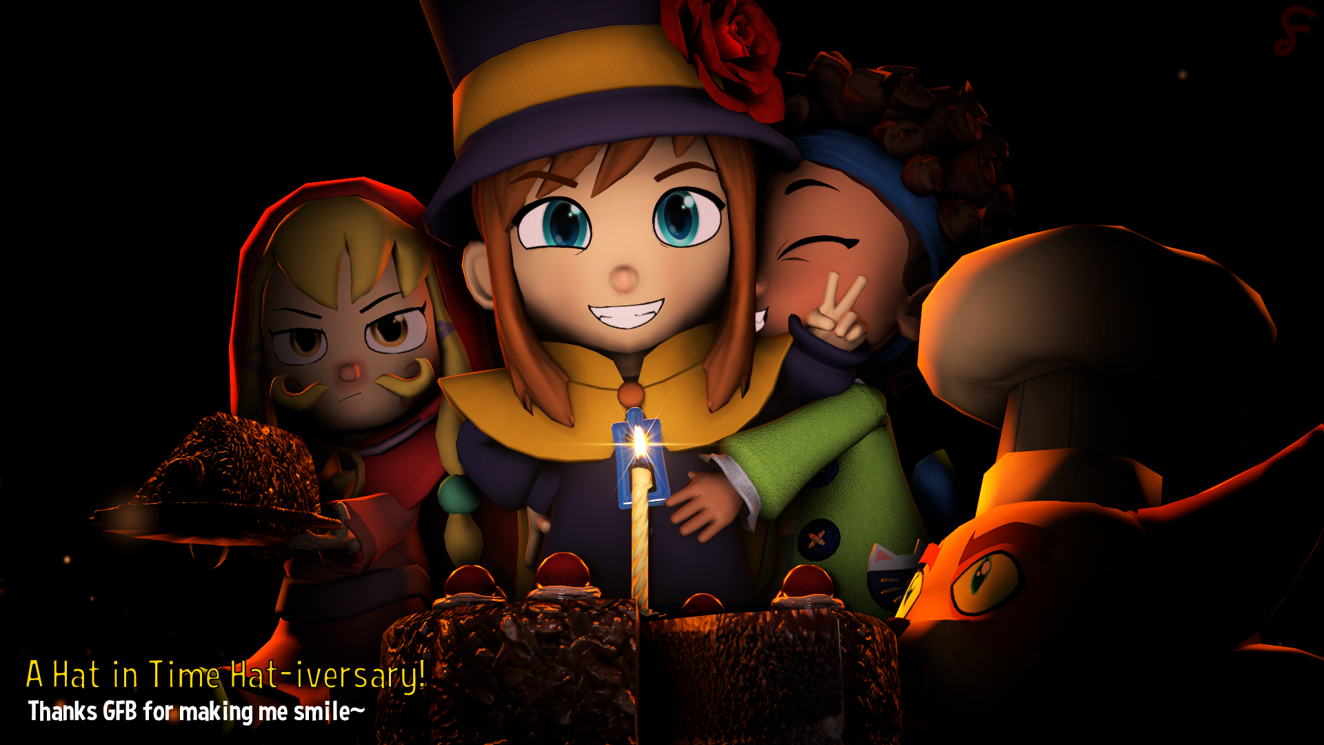 A Hat In Time Hat Iversary By Fruztal X On Deviantart