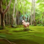 Deer by andrework