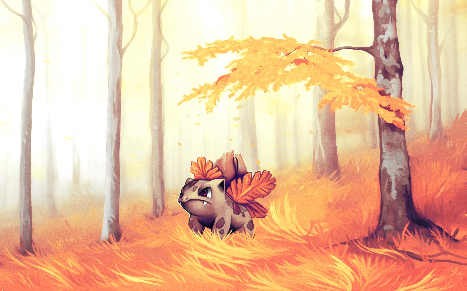 Ivysaur by andrework