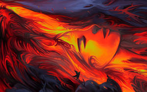 Lava Girl by andrework