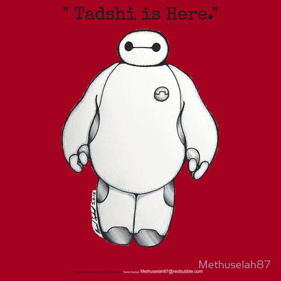 Tadashi is Here (Redbubble products) by Methuselah87