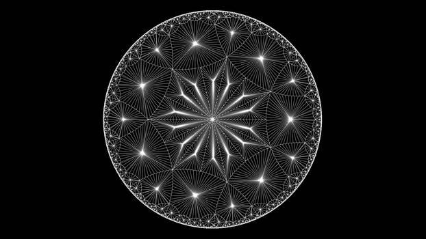 Hyperbolic tiling 5