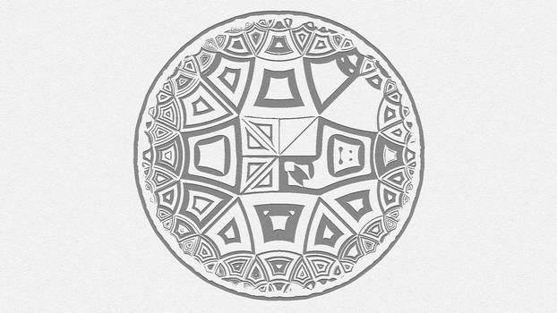Hyperbolic tiling 7