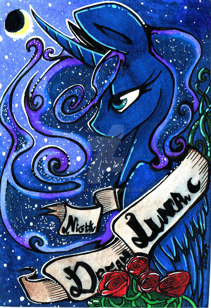Luna Princess of The Night by Ulkuchi