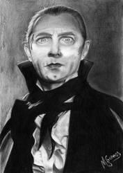 Bela Lugosi as Dracula by mascarum