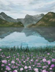 Landscape Study #2 by mascarum