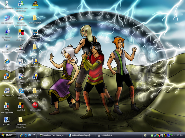 Juathuur Desktop. by twinkid
