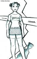 Jahnaa Portrait. by twinkid