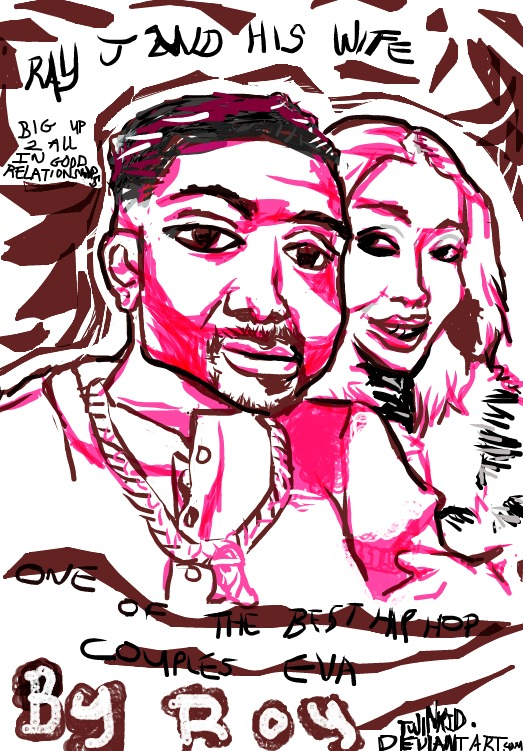 One Of the Best Couples In HipHop-Ray J n his Wife by twinkid