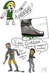 Gordon vs Link - Squish
