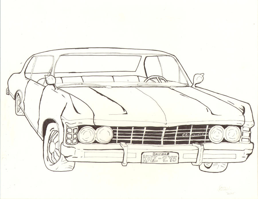 1967 Chevy Impala By Creedling