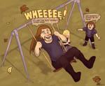 Swings ams so much fun