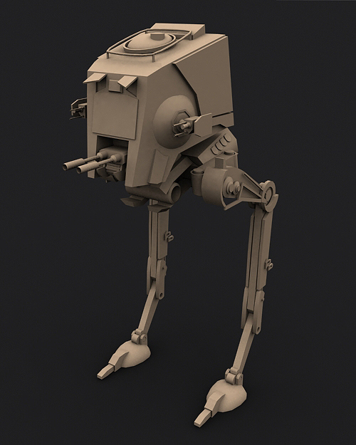 AT-ST by shadowh3