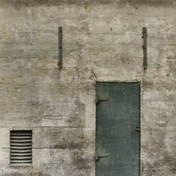 concrete door by shadowh3