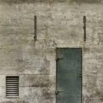 concrete door