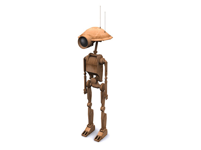 Pit Droid by shadowh3