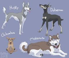 breeds 1 by SAND-MUTT