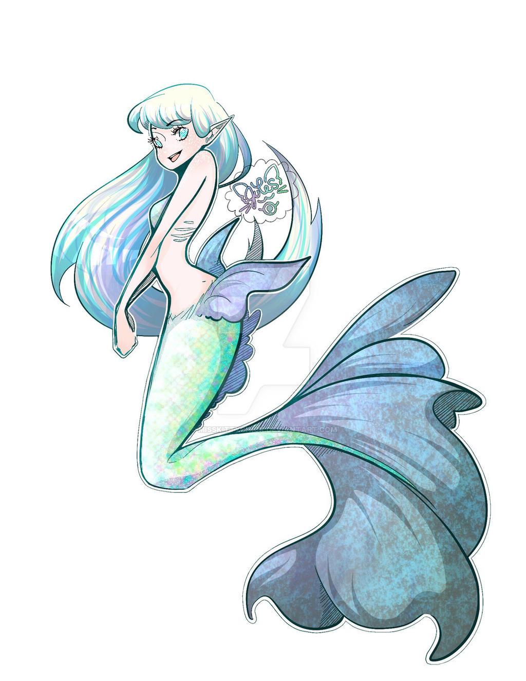 Mermaid OC By Misskittychick On DeviantArt