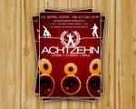 Flyer Achtzehn Party