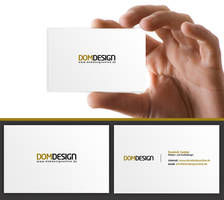 domdesign Business Card by DOMDESIGN