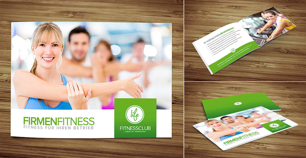 Fitness Brochure By Domdesign On Deviantart