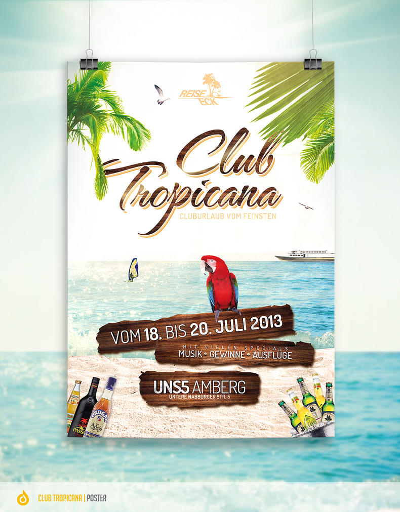 Summer Event - Flyer by DOMDESIGN on DeviantArt