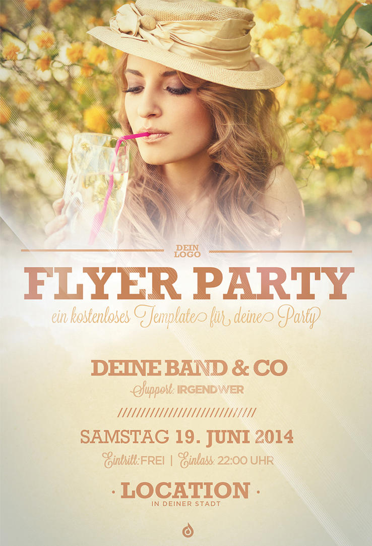 FREE Summer Flyer Template by DOMDESIGN