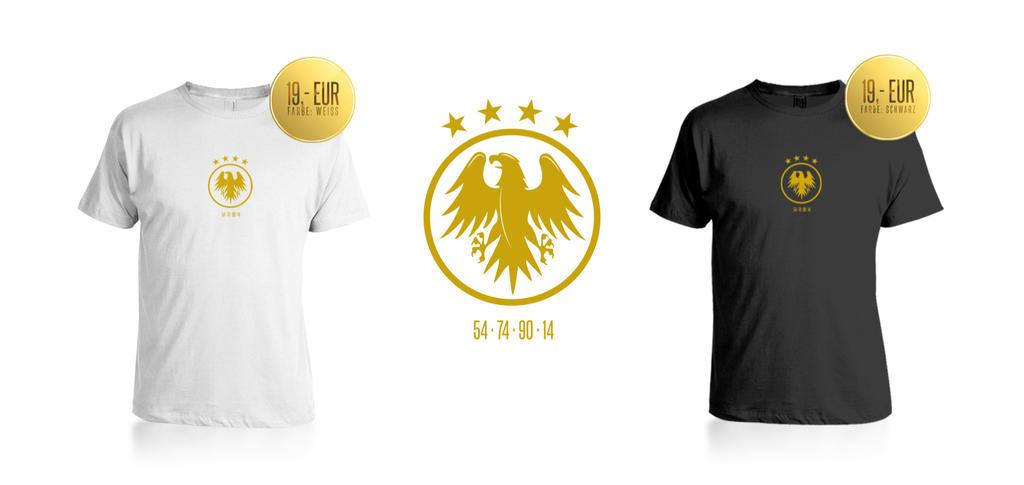 World Cup Winner Shirt by DOMDESIGN