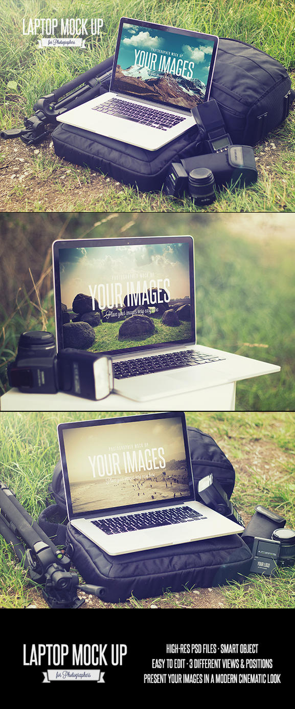 Photographer Mock up by DOMDESIGN