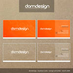 Business Card domdesign by DOMDESIGN