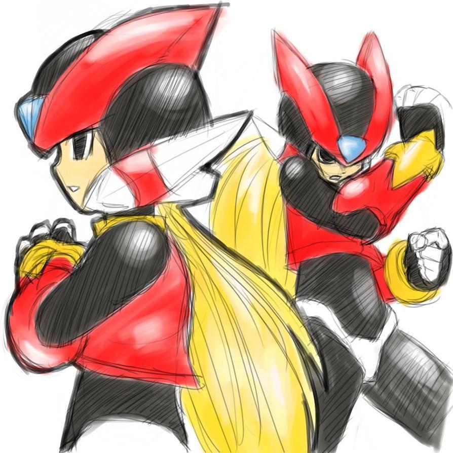 Fanart - Megaman Zero sketch by MajinSwen