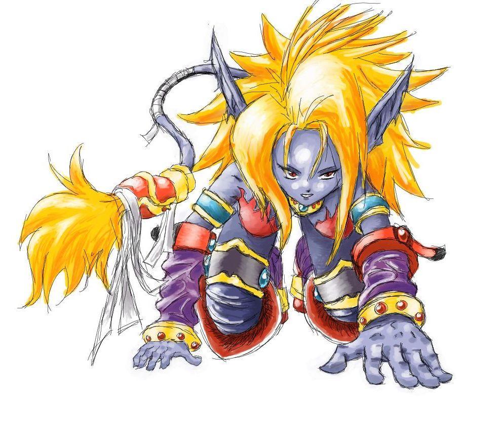 BOF2 Fanart- Katt shamanized by MajinSwen