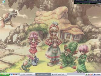 Desktop - Legend of Mana by MajinSwen