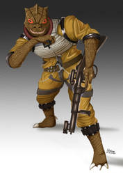 Bossk is here by Palmsam