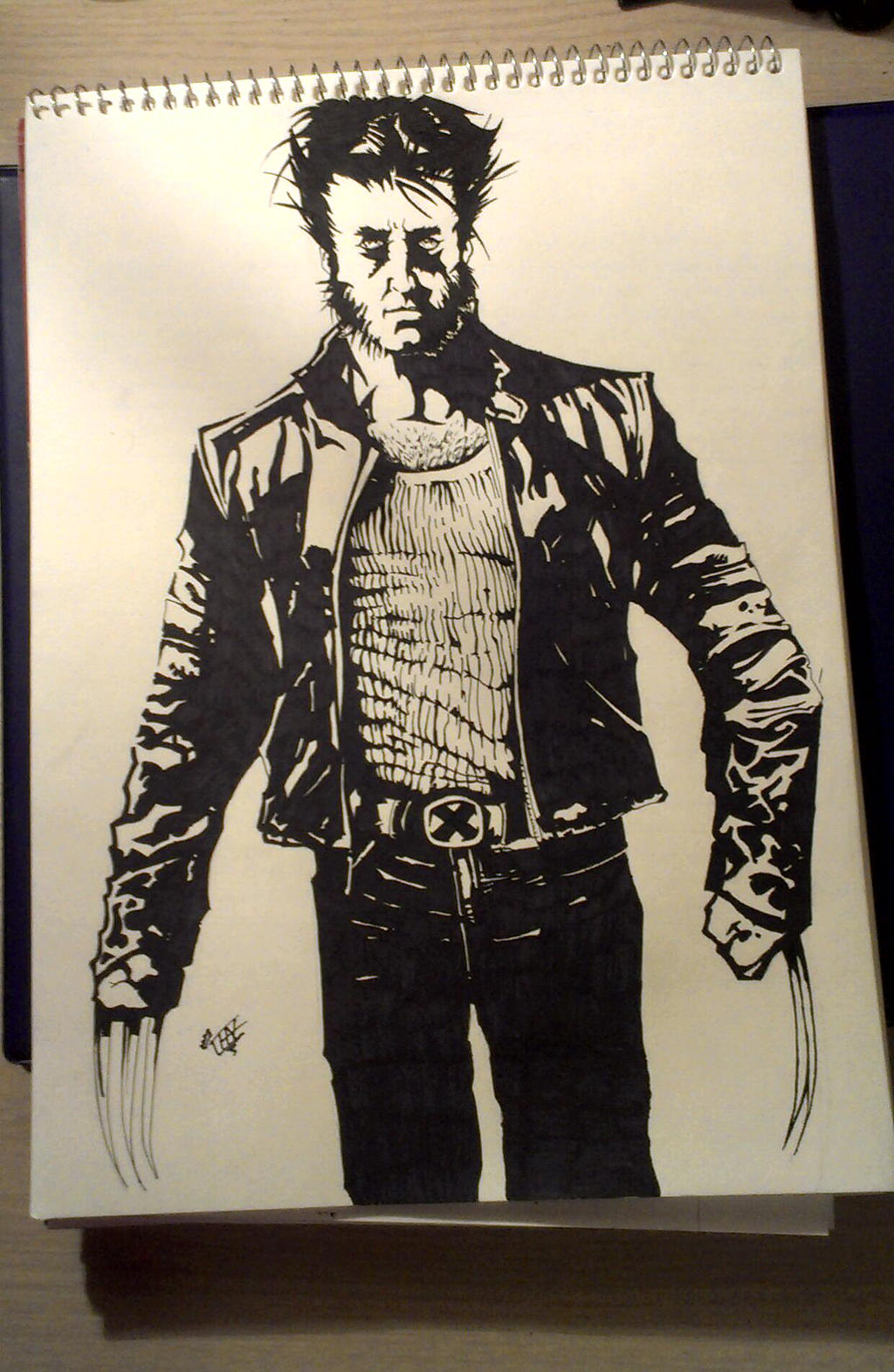 Wolverine by chazDgreat
