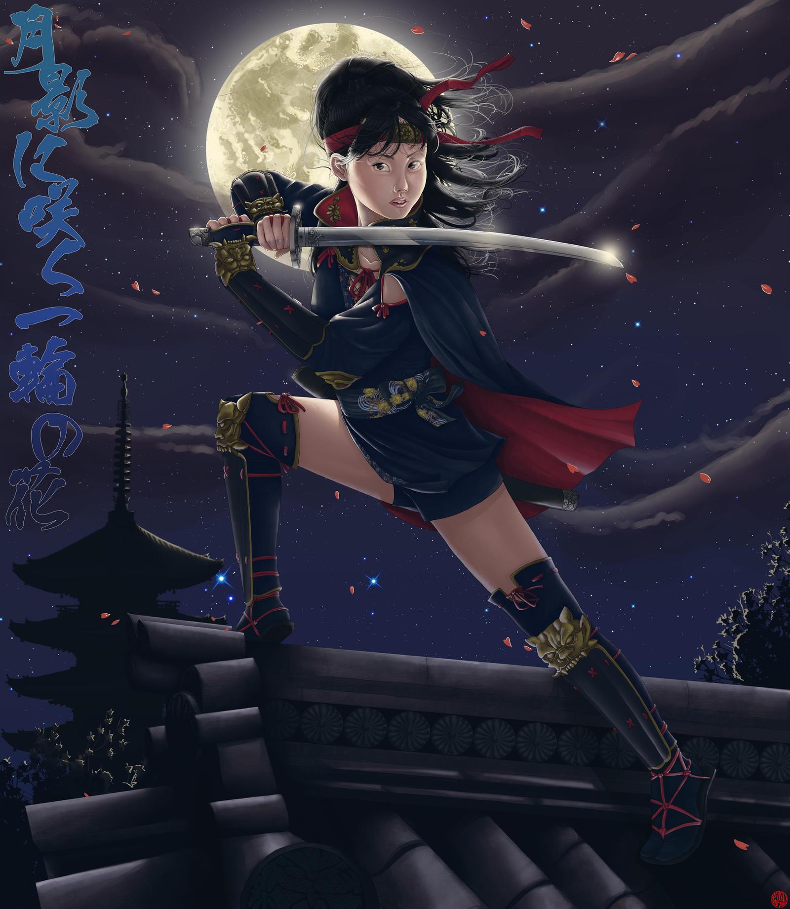 Yukina Ninja Girl Kunoichi By Rijio On DeviantArt