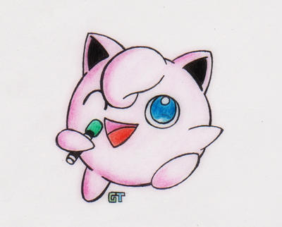 #039 - Jigglypuff(Microphone markers version) by GTS257-CT ...