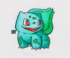 #001 - Bulbasaur by GTS257-CT