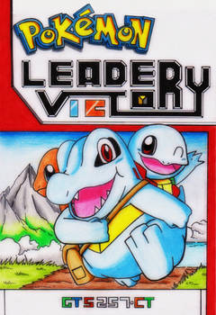 Pokemon Leader Victory comics cover