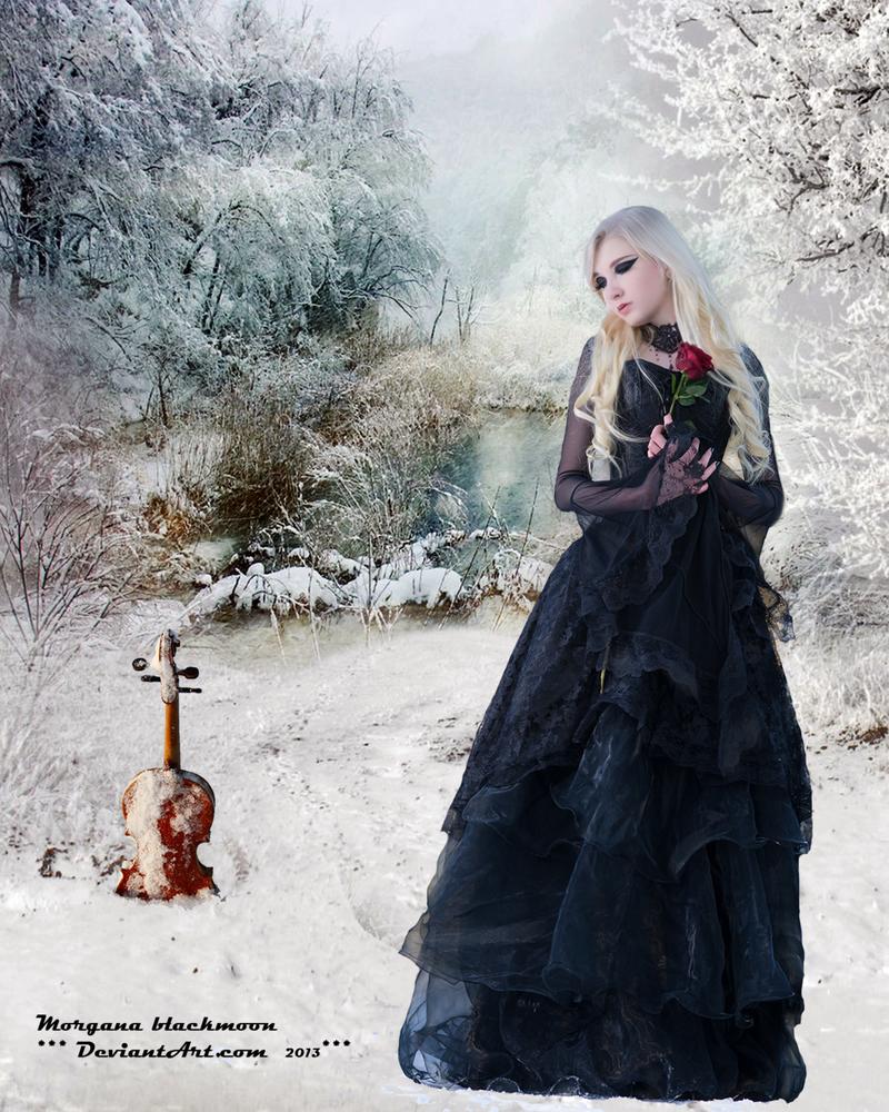 winter gothic by morganablackmoon on deviantart