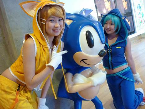 Vocaloid: Sonic + Tails