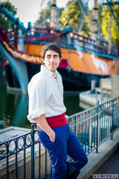 Prince Eric and His Ship by LeoCamacho