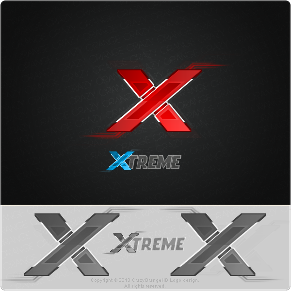 xtreme logo by crazyorangehd on deviantart