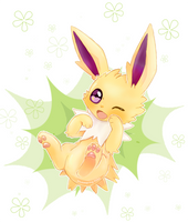 [FA] Jolteon by Shimmering-Nibs