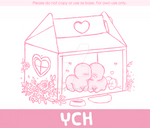 [closed!] YCH [Critters only]: Love Carton