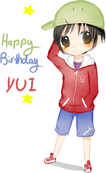HBD Yui by Hannun