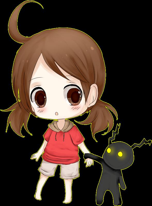 Renders Kawai Chibi 04 Kii_by_gorenute-d505nfk
