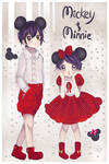 Mickey And Minnie by Hannun